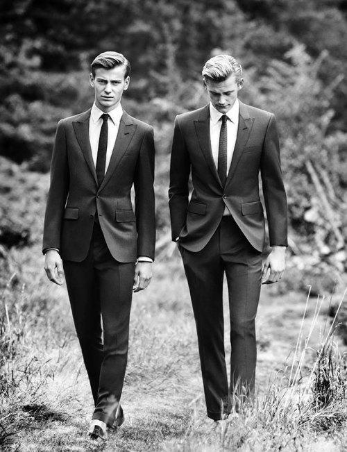 mensfashionworld:  Hardy Amies Spring/Summer 2013 Campaign  Simple and sleek.
