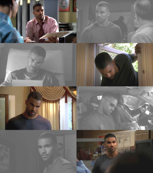 Derek Morgan + Plain Sight (1.04)