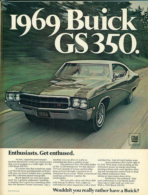 1969 Buick GS350 Hardtop by coconv on Flickr.1969 Buick GS350 Hardtop