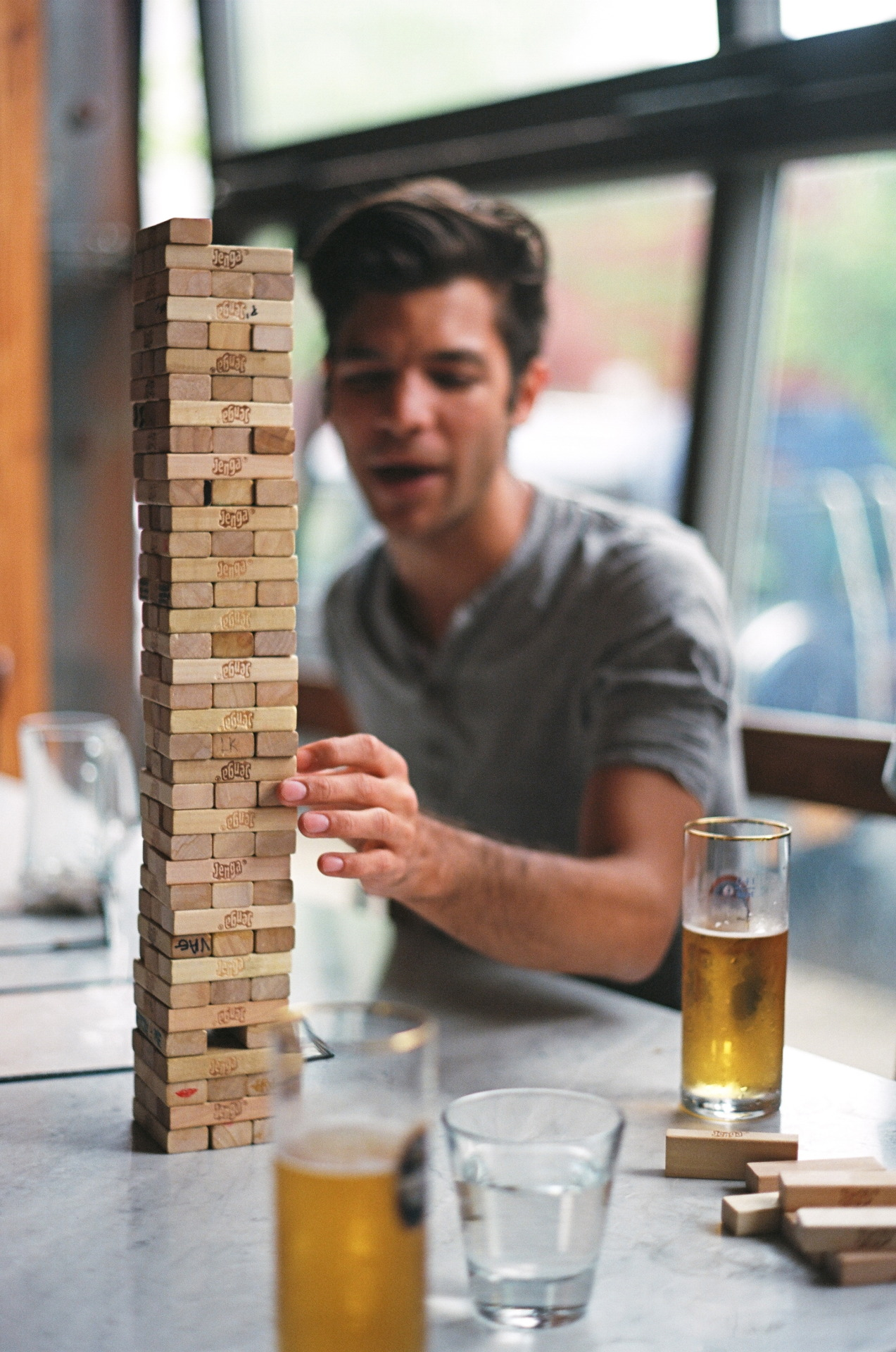 Double Jenga Spritzenhaus, Greenpoint, Brooklyn May 2013