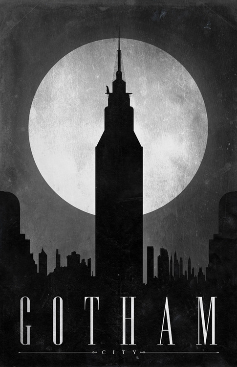 batmans-mistress:  qavee:  Get on my wall, please.  Gotham at its Peak