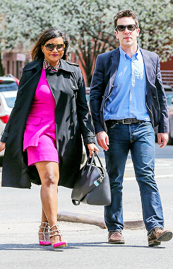edit candids Mindy Kaling B.J. Novak