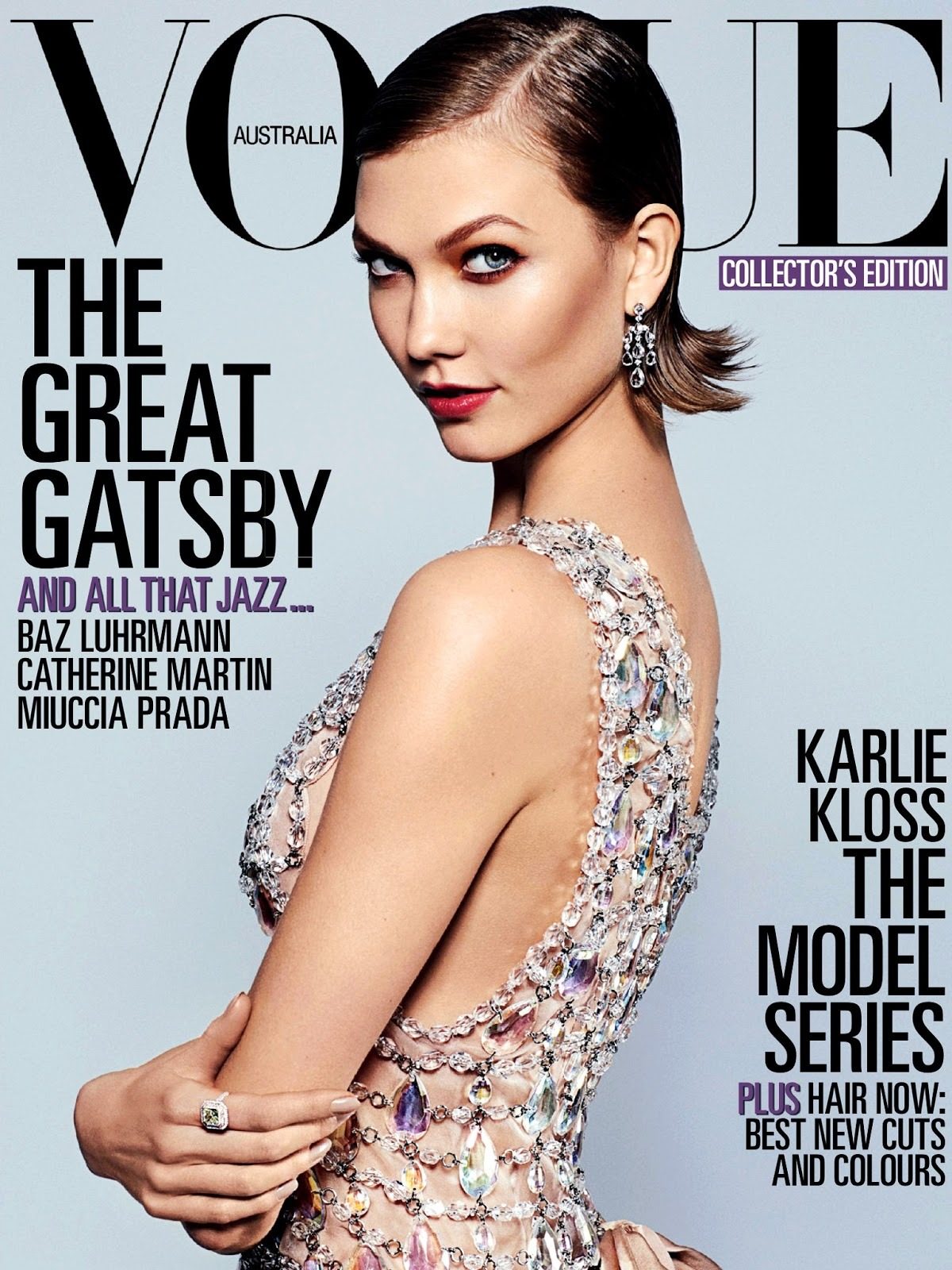 Karlie Kloss Vogue Australia, May 2013 Photos by Arthur Elgort