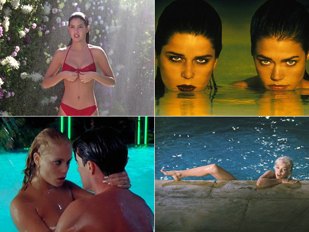 The 10 Sexiest Pool Scenes in Film History in honor of Gatsby Week!