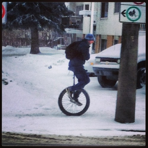 Only in Edmonton man… Only in #yeg!