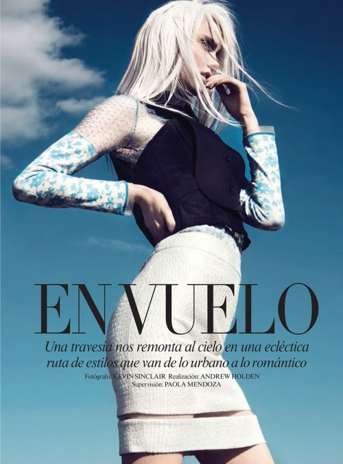 """En Vuelo"" (+) Vogue Latin America, May 2013 photographer: Kevin Sinclair Katie Fogarty"