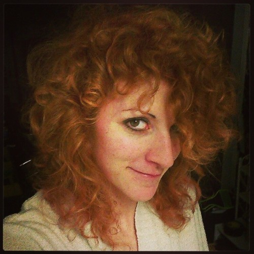 #awesome #hair #redhead #naturalcurl #curly #me #selfie