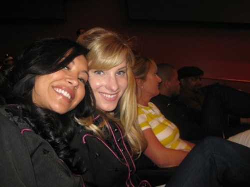 brittana-ology:  Not only is this picture adorable, but the fact that HeMo's mom is sitting next to them just makes me all sorts of happy inside.
