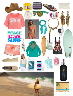 Сет Surf shack пользователя chelli-lopez с victoria secret ❤ liked on PolyvoreJosh Goot open back dress / Wildfox Couture t shirt / Jens Pirate Booty crochet top / Basta Surf zebra print bikini / Scotch & Soda , $92 / Vans espadrille shoes / SO  flip flops / Aurélie Bidermann clip gold earrings / Vestal digital jewelry / FOSSIL bracelet charm / Aurélie Bidermann  / prAna cowboy hat / BCBGMAXAZRIA  / Topshop  / Ray-Ban green wayfarer sunglasses, $145 / Victoria's Secret victoria secret / Victoria's Secret victoria secret / Bumble and Bumble  / Random House Surf Photography Of The 60s & 70s, $24 / ALMOND SURFBOARDS Almond surf shop sandia fish / Juicy Couture Surf Board Raffia Pouch / SURFRIDER FOUNDATION Surfrider peace love surf sticker / Gold Coast The Classic Bamboo Floater 44 Longboard Complete / Cynthia Rowley Surf Pack Band-Aids / Scotch & Soda Surf Inspired Knit With Fluo Text, $92 / Victoria's Secret Water Bottle