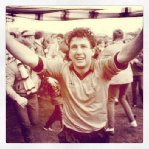 30 years is too long. Being the good times back Jackie! #ftd83 #dufc #dundeeunited #scotland #ralphmilne