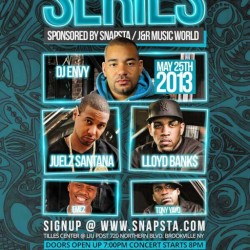 Come to the Snapsta Series on May 25th, feat. performances by @theplk ( @lloydbanks ) @tonyyayo @thejuelzsantana & more! Tilles Centre in Brookville, L.I. #lloydbanks #lloydbankslive #lloydbanksconcert #GUNIT #hiphop #rap #tonyyayo #music #likeforlike #likesforlikes #like4like #likes4likes #100likes #share4share #shareforshare