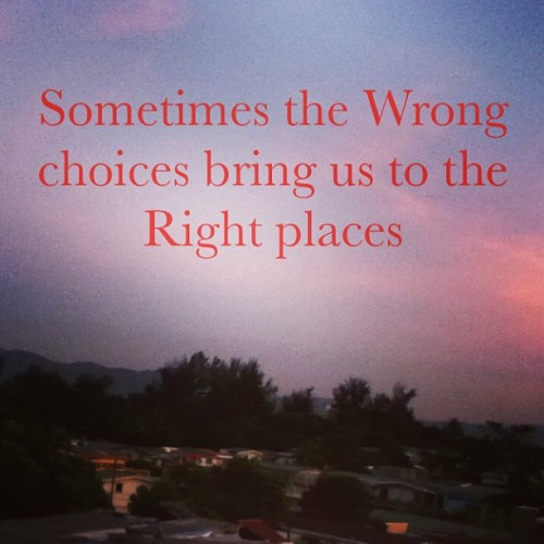 wrong places, right stories