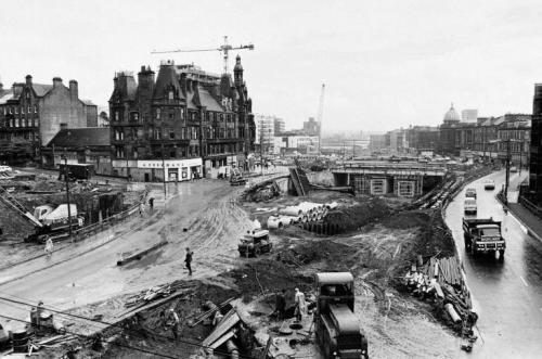 Charing Cross. Glasgow, 1970.