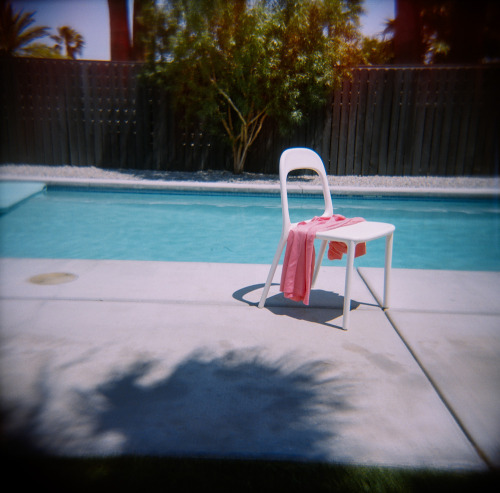 Pool Chair I have a serious problem with photographing empty chairs Palm Springs 2013