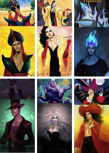 What Disney Villains Would Look Like if They Were Hot Rated NC-17