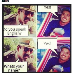 #RP  Lls! Weeeaaaak!!! Im not racist but this is madd funny. #Latino #Yes #language #spanish #understanding #Funny #Dumb #stupid #tru