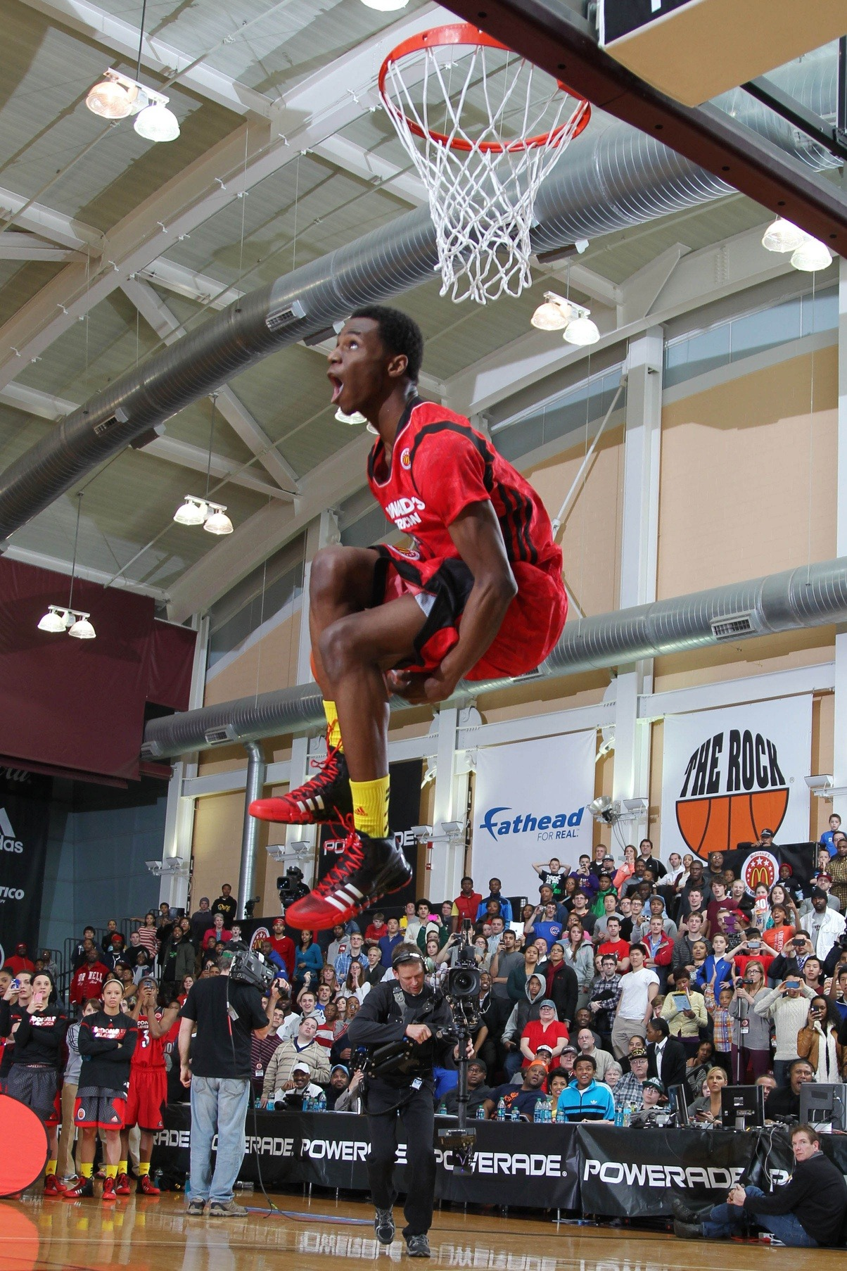 Andrew Wiggins is considered to be the BEST high school player since LeBron. Today, he chose to play ball at Kansas.