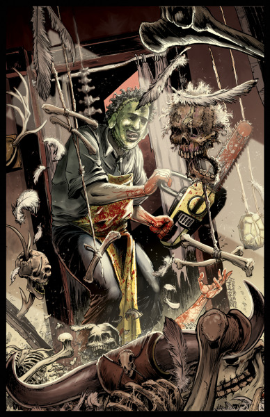 LEATHERFACE: THE TEXAS CHAINSAW MASSACRE by ~Zornow