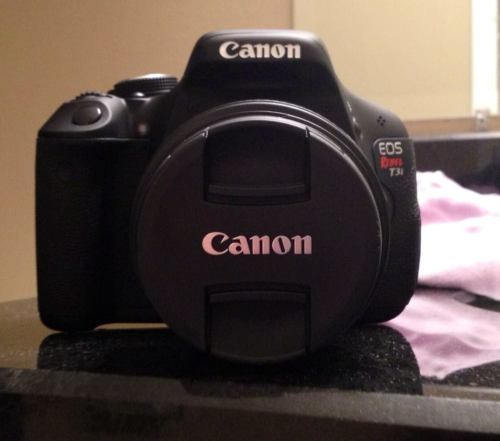 My new camera It's a Canon T3i, just got it yesterday. It's Beautiful