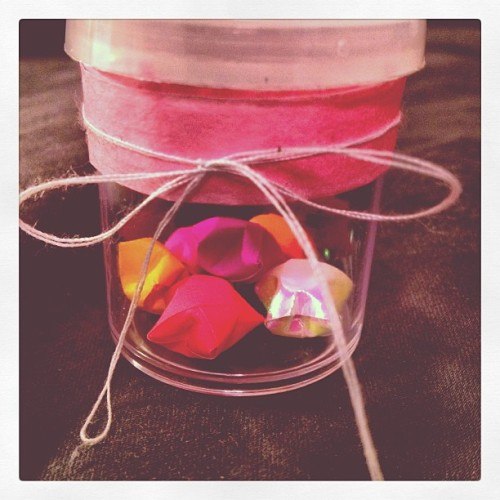 Procrastination #stars #jar #cute #bow #gift #finals