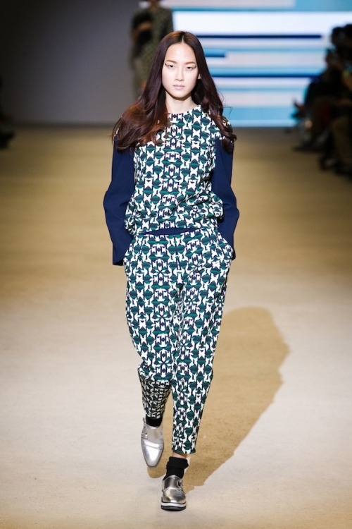 Hye Park for Studio K F/W 2013 at Seoul Fashion Week