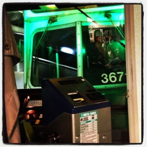 Green light on green line. #mbta #iheartboston #igersboston  (at Government Center Plaza)