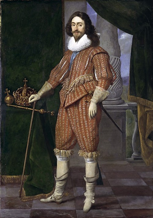 indypendentroyalty:  King Charles I, by Daniel Mijtens, 1629. Metropolitan Museum of Art, accession 06.126. (via A Gentleman's Pocketbook: Reconstructing an 18th Century Accessory - Salem Maritime National Historic Site)