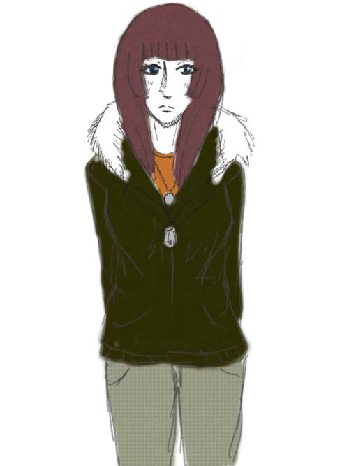 Very lazily drew myself in Akira's clothes like I said I would. I would probably not end up very well in Bl@ster/Igura considering I've never seriously fought anyone. But then again, who knows.