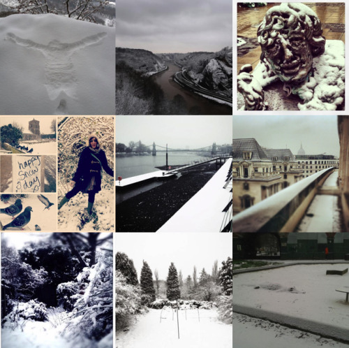 Some great pictures of the snow blanketing the UK coming in from Guardian readers. See more here (or click on the pic) and follow live updates