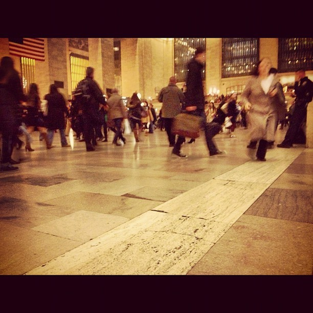 The #nyc hustle and bustle #friday #grandcentral