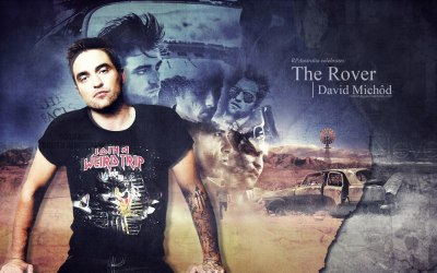 debb24601:  #365DoR Current fave wallpaper in my desktop slideshow. I'm so looking forward to The Rover and seeing Rob and Guy this morning just sent me over the edge. Gritty Rob FTW. By CreationsbyJules