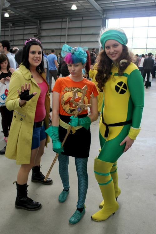 Man I wish I was back at Supanova. I can't wait to make my costume for Comic-con in July. www.nerd-burger.com