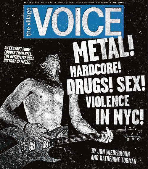 villagevoice:  This week's cover: The Oral History of NYC's Metal/Hardcore Crossover