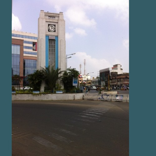 #chennai landmarks - #royapettah #clocktower #madras #tamilnadu #india
