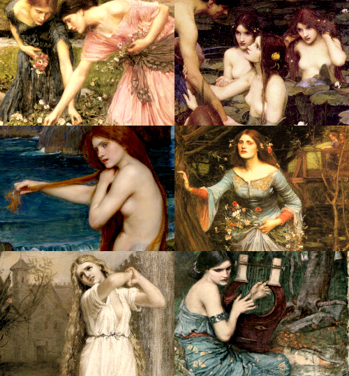 sophialorens:  Favourite Artists: John William Waterhouse