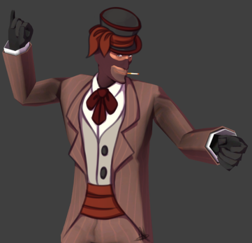 retrocitrus:  sometimes i get ideas for tf2 items but then i remember i can't model to save my life  Right, so I'm making both of these and you're getting a % on them yes.