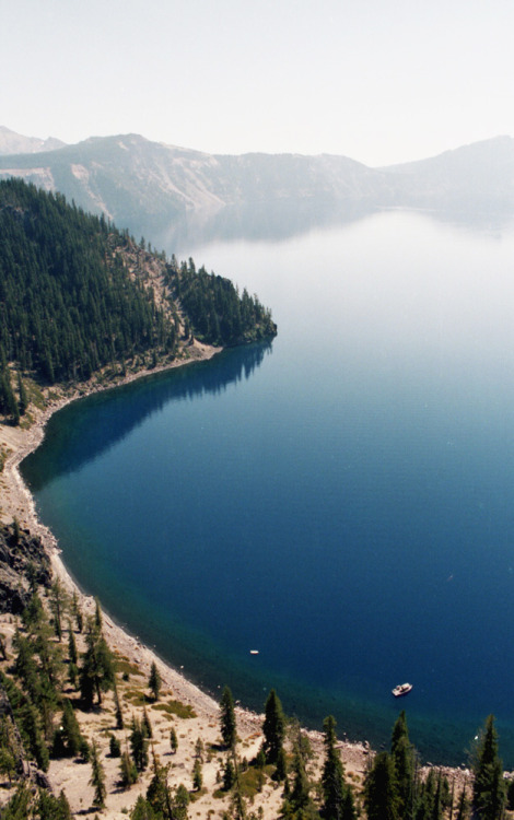 mmmmaps:  definitelydope:  Crater Lake (by The Rune Project)  I plan on making it out to Crater Lake this summer! Sadly I have never been and I've been an Oregonian for almost 20 years!