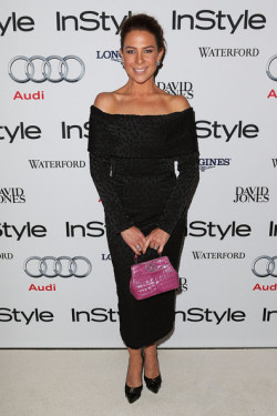 2013 INSTYLE WOMEN OF STYLE AWARDS - KATE RITCHIE At 'I Am Starstruck' we live by the motto that one's most STYLISH accessory is confidence! That was definitely the case at the 2013 InStyle Women Of Style Awards held on last night in Sydney. Confidence, and yes alright, perhaps a couple of designer frocks and shoes on the red carpet, made for a fantastic star studded night of style. The Fashion Award went to designer Carla Zampatti whilst Nicole Kidman was awarded the Hall of Fame. Local stars that strutted the red carpet included Samara Weaving, Kate Ritchie, Charlotte Dawson and Samantha Harris. Check out the hot shots of Australia's most stylish women straight from the red carpet HERE and let us know who YOU think is the most stylish woman! Image Source: Zimbio