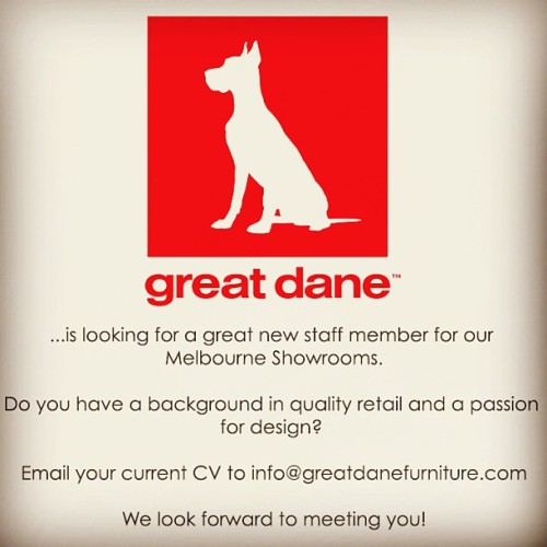Work at Great Dane!