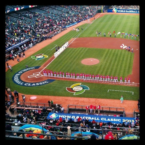 World Baseball Classic with @teek4one and Allen. #wbc  (at AT&T)