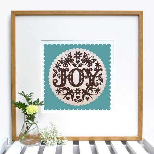 FIND IT ON ETSY: It's all ok! Happy new year! http://www.etsy.com/listing/83979992/joy-giclee-print