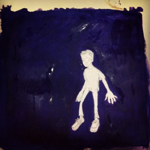 🎵The Last Man🎵-Clint Mansell #art #painting #wip #me #floating
