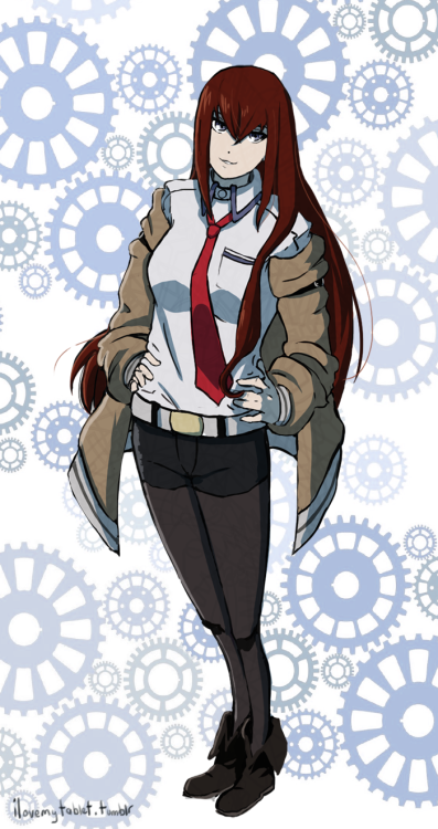Kurisu from Steins Gate :D
