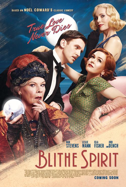 Blithe Spirit, le film adapté de la pièce de Noel Coward, avec Dan Stevens et Judi Dench 65748db04898aa866eafd96001b7235192ae0886