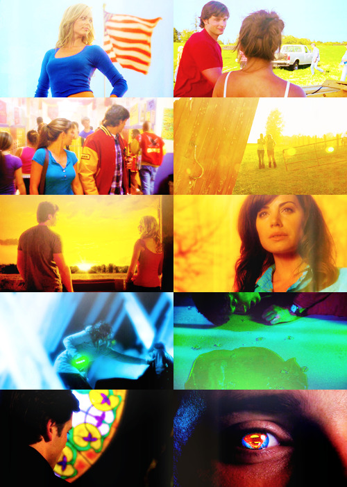 Screencap meme: Smallville + color for durancer.