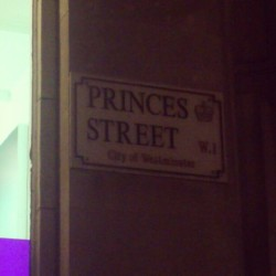 Princes Street in London #place #city #town #name #princes #street #london #uk #england