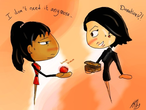 kiwys-chibis:  What if Santana met The Evil Queen?
