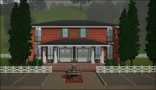 I'm building the Country Club. I will have to plop it on a larger lot. :) Also, I don't know how to tag it… Exclusive Lounge? Private Venue? What would you choose?