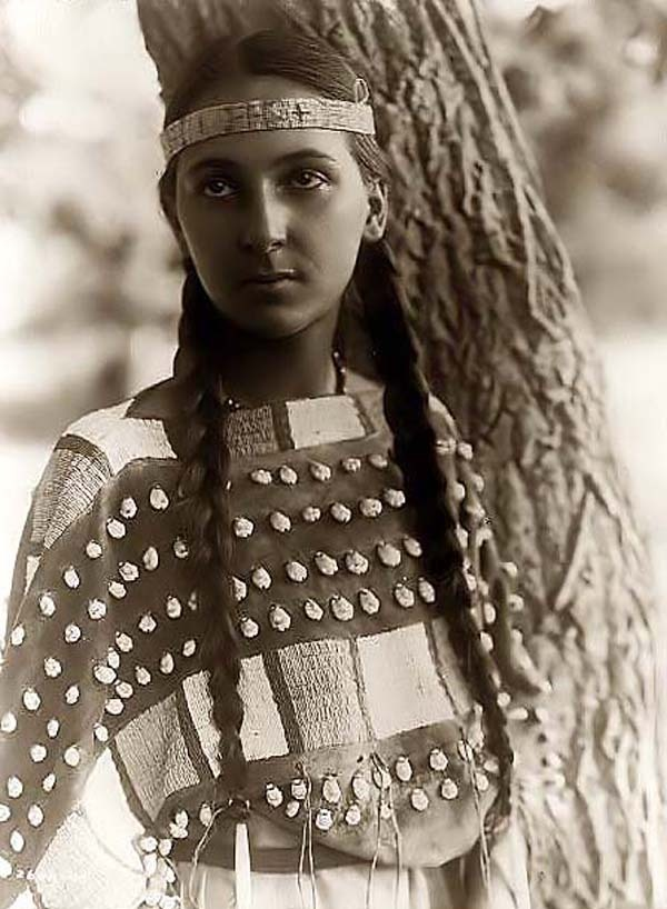 Pamunkey girl. Photo taken on the Pamunkey reservation in Virginia abt 1921