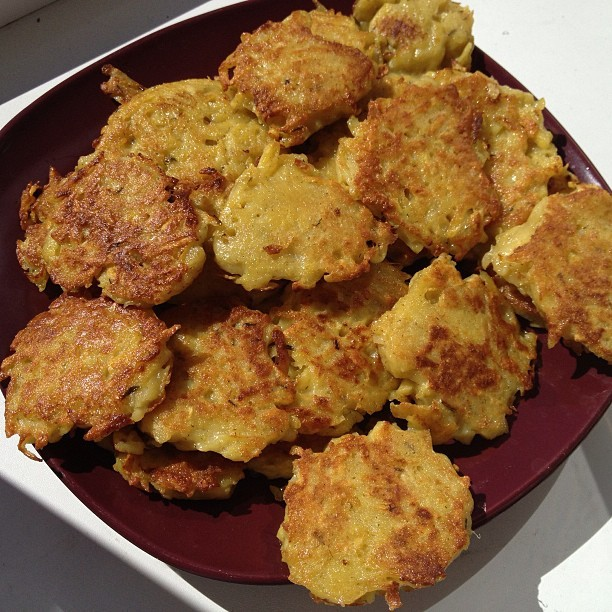 #homemadelv #potato #pancakes http://bit.ly/ZFIBdg
